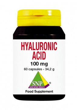 Hyaluronic Acid 100 mg - 60 caps