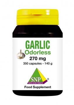 Garlic  350 capsules Odorless