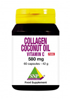 Collagen Coconut oil Vitamin C Pure