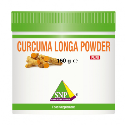 Organic Curcuma longa root powder