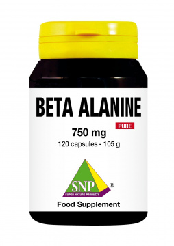 Beta Alanine 750 mg puur