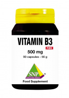Vitamin B3 - 500 mg Pure: