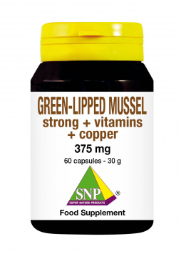Green-lipped mussel strong + vitamins + copper