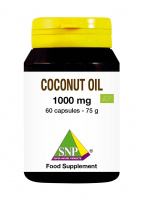 Coconut oil Bio 1000 mg