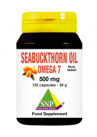 Seabuckthorn oil 500 mg omega 7  120 capsules