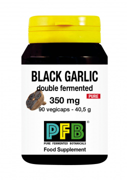 Black Garlic Double Fermented Pure