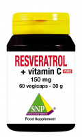 Resveratrol 150 mg + Vitamin C Pure