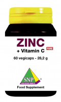 Zinc + buffered Vitamin C Pure