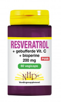 Resveratrol + buffered Vitamin C + Bioperine Pure