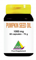 Pumpkin Seed Oil 1000 mg