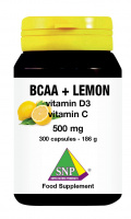 BCAA + Lemon + Vitamin D3 + Vitamin C - 300 caps