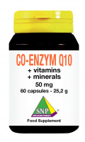 Co-enzym Q10 + vitamins + minerals