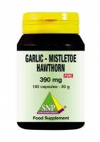 Garlic  Mistletoe  Hawthorn Pure