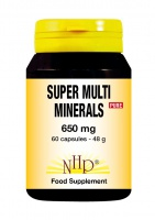 Super Multi Minerals 650 mg Pure