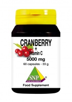 Cranberry + Vitamin C 5000 mg