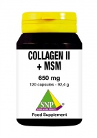 Collagen II + MSM